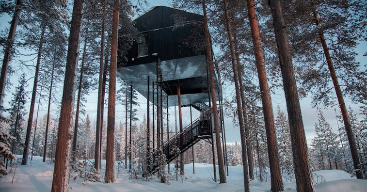 Sweedish Cabin Allows You to Sleep Among the Trees