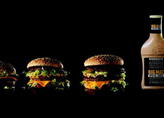 Yup, McDonald's is giving away big bottles of Big Mac sauce