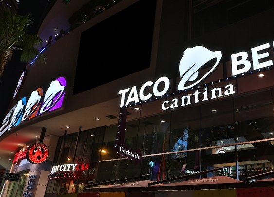 Inside Taco Bell's 24-Hour Las Vegas Cantina, Complete With Alcohol And DJ