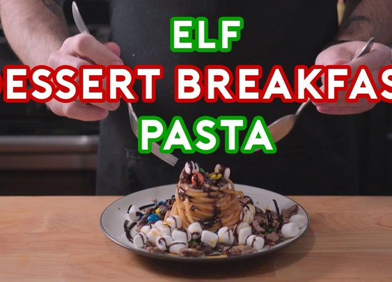 Binging with Babish: Breakfast Dessert Pasta from Elf - YouTube