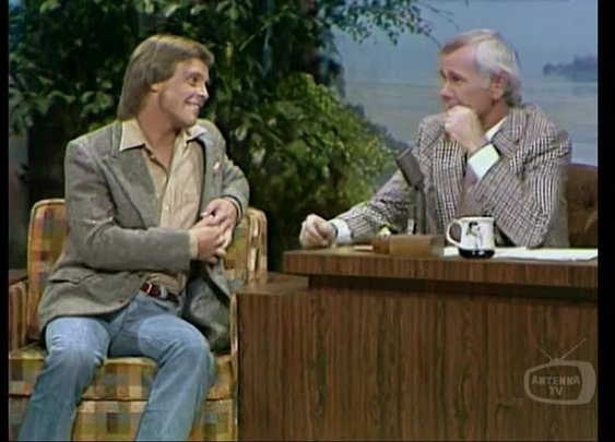 Mark Hamill on the Tonight Show with Johnny Carson, 1977