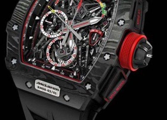 Richard Mille RM 50.03 McLaren F1 Is The Lightest Split-Seconds Chronograph Ever Made