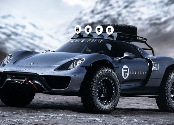 The Offroad Porsche 918 Spyder