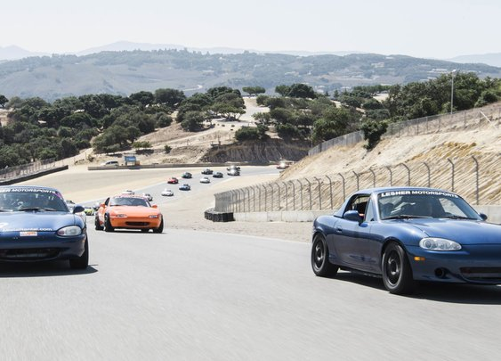 Sam Smith tracked 19 modified Miatas in one crazy, marathon weekend