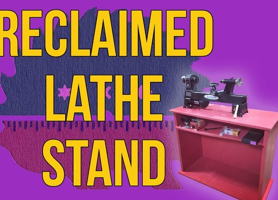 Making a Lathe Stand | #Reclaimed | How To - YouTube