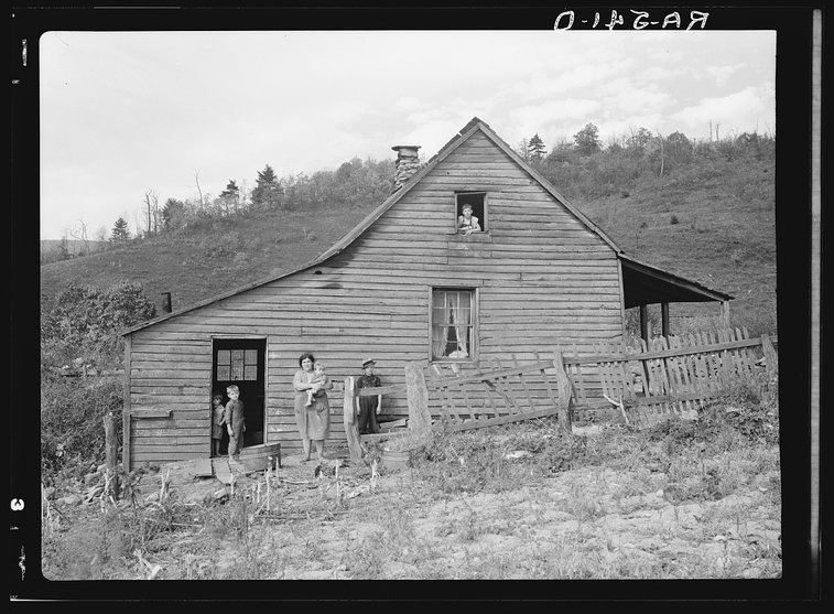 25 Photos Of Virginia In The Great Depression