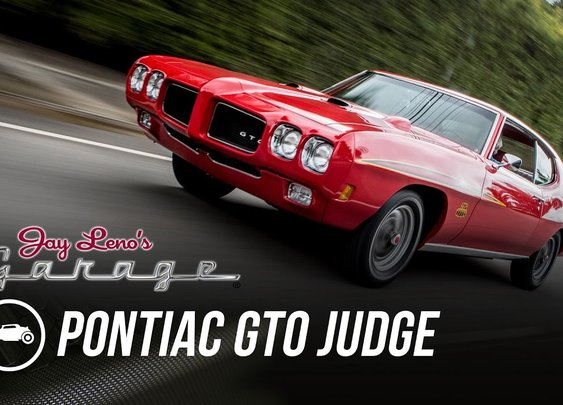 1970 Pontiac GTO Judge - Jay Leno's Garage