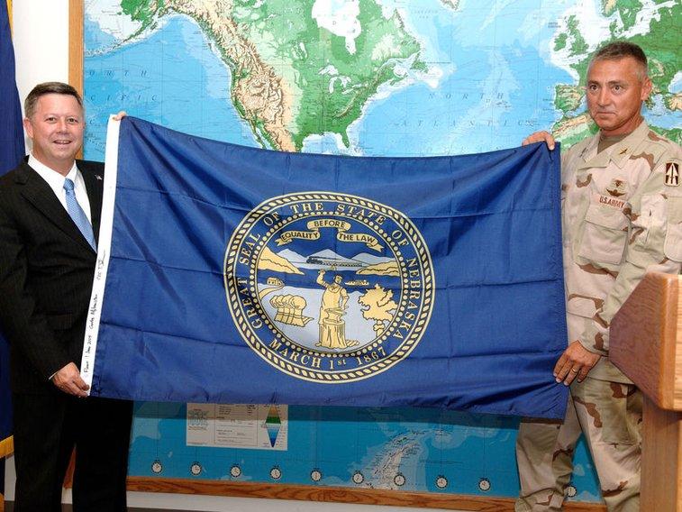 Nebraska flag flew upside down at Capitol for 10 days and 'nobody noticed,' says senator who wants design change | Legislature | omaha.com