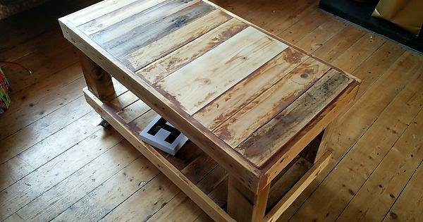 DIY Pallet Coffee Table - Album on Imgur
