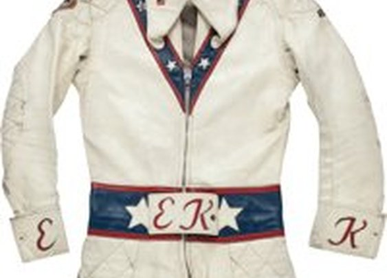 1972-73 Evel Knievel Motorcycle Leathers Worn in   Lot #80001   Heritage Auctions