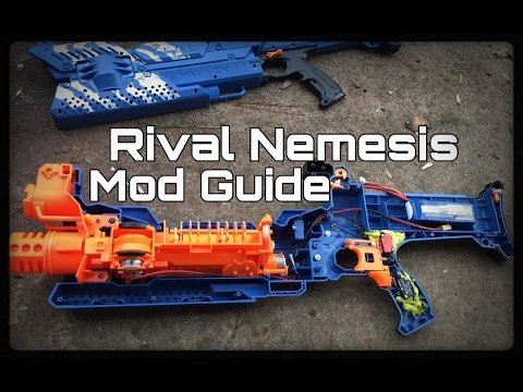 Epic Mod Guide: Nerf Rival Nemesis Becomes A Bullet Hose!