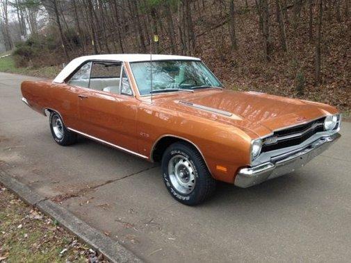 Fresh Copper: Restored 1969 Dodge Dart GTS 4-Speed |  Bring a Trailer