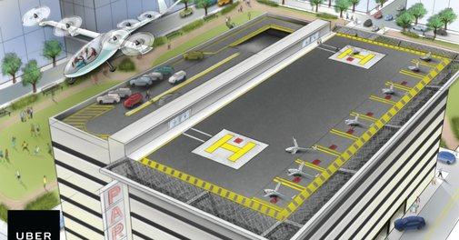 Uber hires NASA aircraft engineer to help develop flying cars at Uber Elevate | TechCrunch