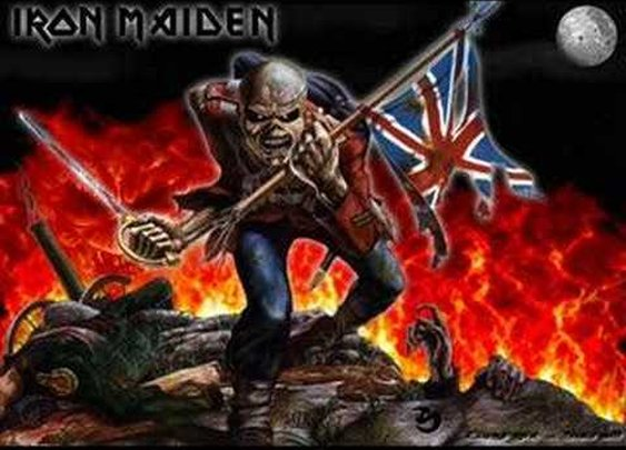 Iron Maiden – The Trooper #manlymusicfriday – Manlihood.com
