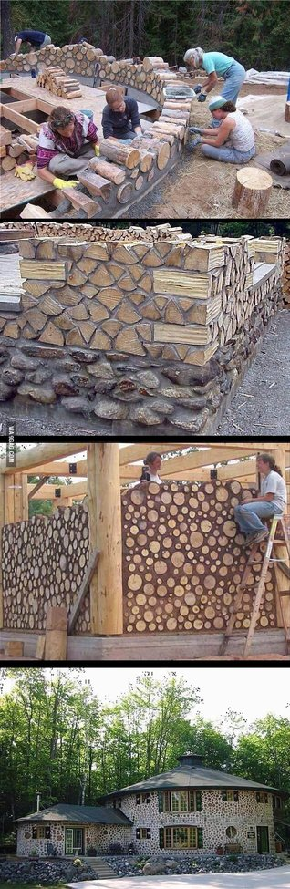 Interesting Take On the Log House