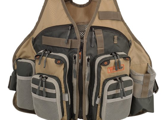 Adjustable Mesh Fly Fishing Vest by AnglaTech Review | | How to fly fish