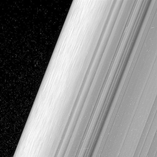 Saturn's Rings Just Got the Ultimate Close-Up