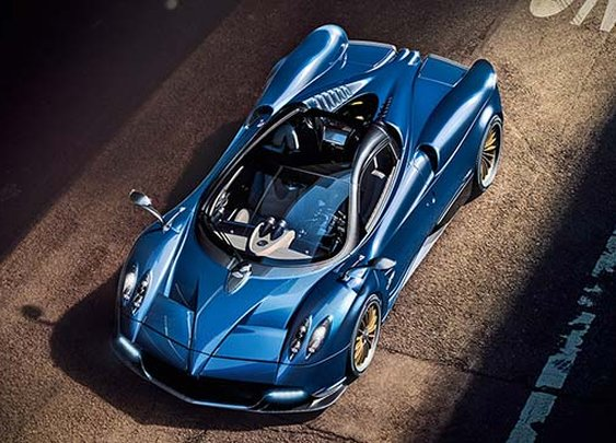 Pagani Huayra Roadster - the combination of art and science