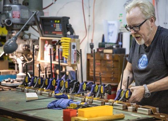 Adam Savage Builds Chewbacca's Bandolier.