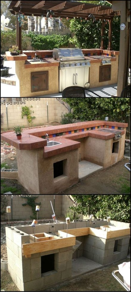 How To Build An Outdoor Kitchen Gentlemint