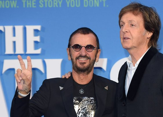 Paul McCartney, Ringo Starr Reunite to Record Together