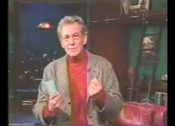 Ian McKellen Reads How to Change a Tire