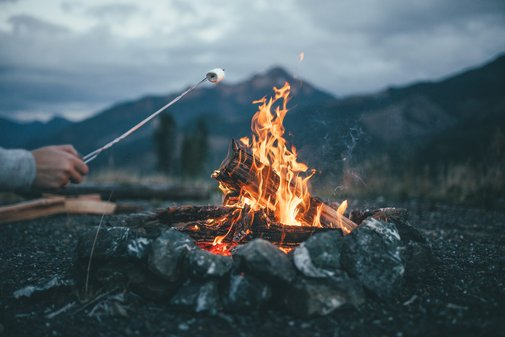 Campfires and Mountains