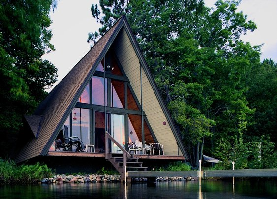 I'm a Sucker For A-Frame Cabins