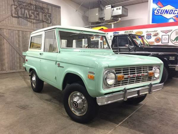 Uncut 302/3-Speed: 1971 Ford Bronco |  Bring a Trailer