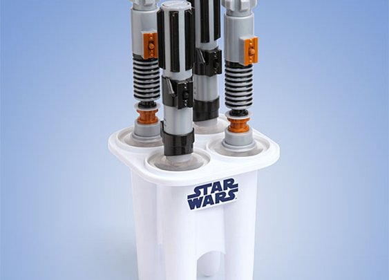 Star Wars Lightsaber Popsicle Maker