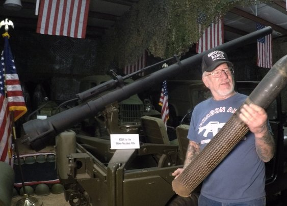 The Most Armed Man in America , Weapons Tour - YouTube