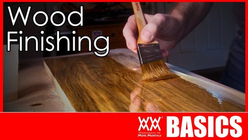 Wood Finishing Made Easy