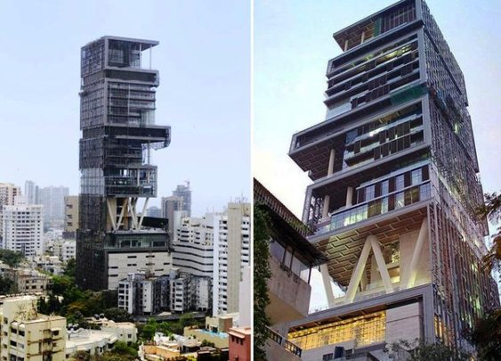Antilia, The Most Extravagant $2bn House In The World