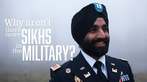Why there aren't more Sikhs in the U.S. military - YouTube
