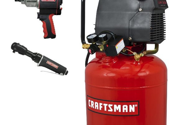 Air Compressor with Impact Wrench: Get Cranking with Tools from Sears