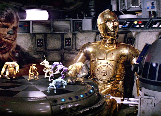The Untold Story Behind The Force Awakens' Best Easter Egg