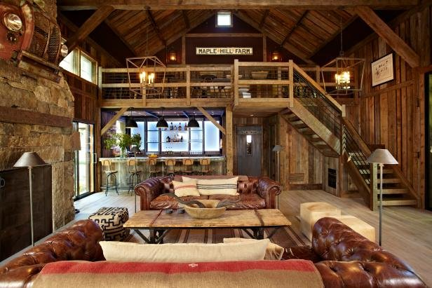 Party Barn With Music Stage and Full Wet Bar | Gentlemint