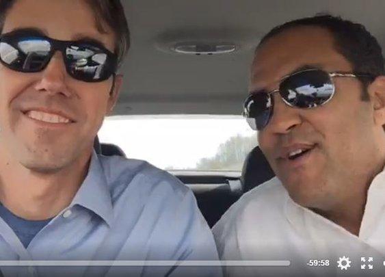 Congressmen Will Hurd, Beto O'Rourke Reach D.C. After Bipartisan Road Trip