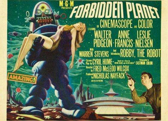 Forbidden Planet is Still Essential and Subversive Sci-Fi   Den of Geek