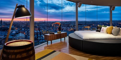 Airbnb Hosts Guinness Storehouse Slumber Party
