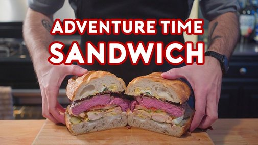 Jake's Perfect Sandwich from Adventure Time