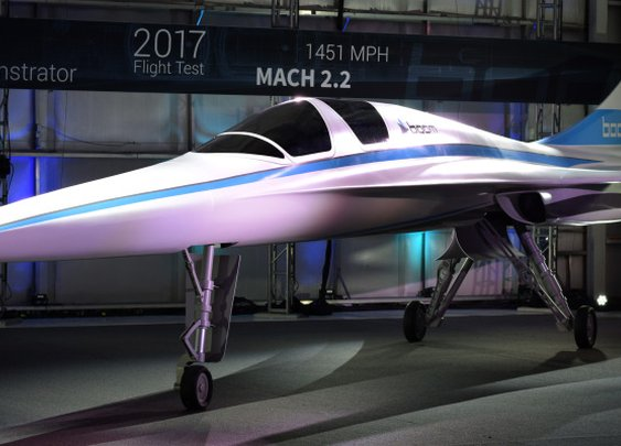 Boom Supersonic raises $33M to build the fastest airplane for passenger flight | TechCrunch