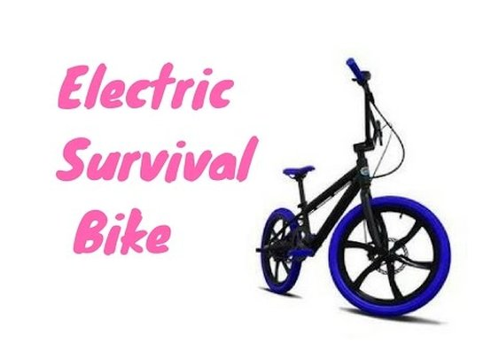 The Ultimate Electric Survival Bike - YouTube