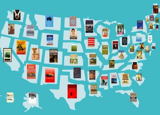 The most famous book set in every state - Business Insider