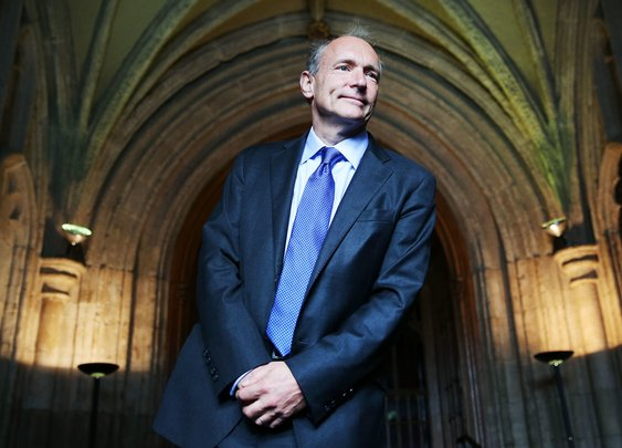 Tim Berners-Lee, Inventor of the Web, Plots a Radical Overhaul of His Creation