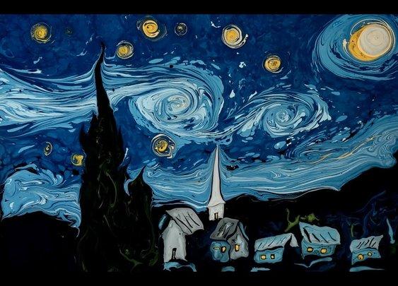 Van Gogh on Dark Water - YouTube