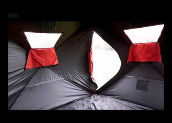 The Ultimate Heavy Duty Bug Out Shelter is the Qube Tent - YouTube