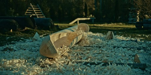 The Birth Of A Dugout Canoe