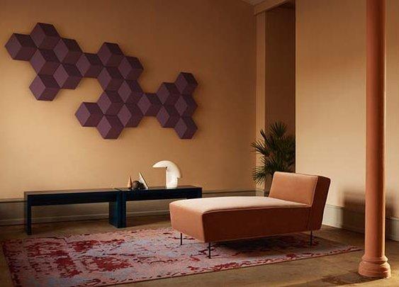 Bang & Olufsen's modular speakers double as wall art