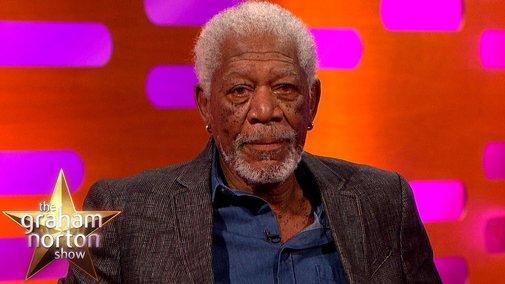 Morgan Freeman Re-Enacts The Shawshank Redemption